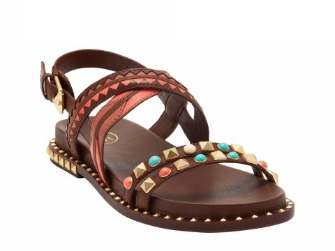 ASH SS17 MASSAI tan sandal $1,750
