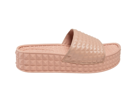 ASH SS17 SPORTS scream nude slipper $690