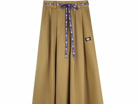 女裝杏色傘裙 HK$599