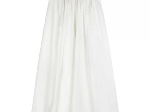 b+ab純白闊身長褲 $899