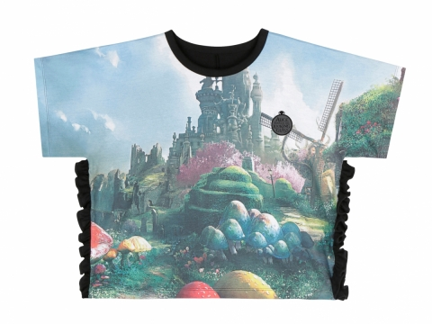 Alice Through the Looking Glass Print Tee $399