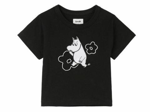 b+ab x Moomin black Moomin kids tee $299