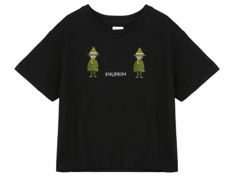 b+ab x Moomin black Snufkin tee $399