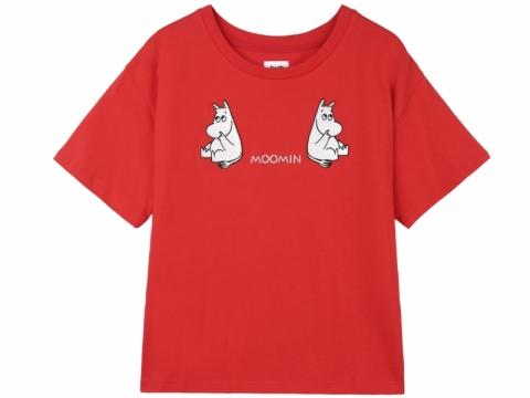 b+ab x Moomin red Moomin tee $399