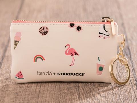 ban.do + STARBUCKS®繽紛夏日小掛包  HK$165