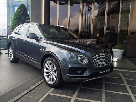 贊助商之一Bentley Motors