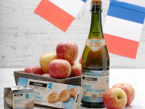 布列塔尼以釀造蘋果酒聞名,推介食品生產商Casino旗下的「Ça Vient D'ici Brut Breton Cider 蘋果酒」。法國人日常小吃包括「Pont Aven牛油曲奇」、「Ca Vient D'ici白吞拿魚醬」,亦是法國人日常小吃的精緻之選。