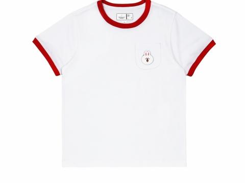 魔術貼繡章口袋T恤(男/女裝)  $259