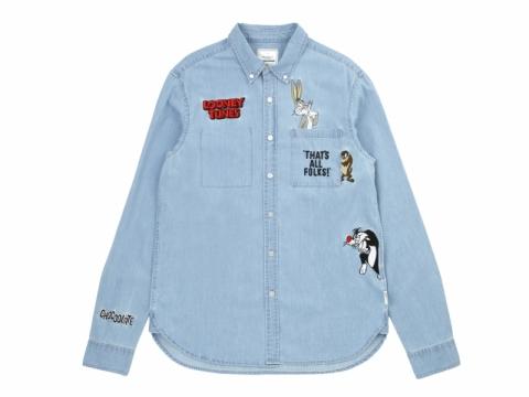 :CHOCOOLATE x LOONEY TUNES牛仔恤衫 男裝: $599 女裝: $599