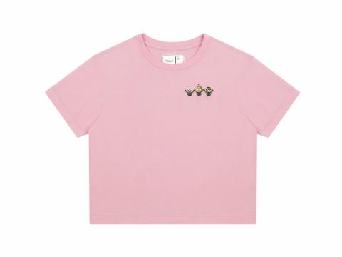刺繡 logo T恤  $239