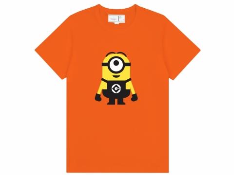 人物絨面T恤  $279
