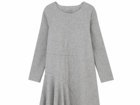 COS asymmetric dress with drawstring details $1,250