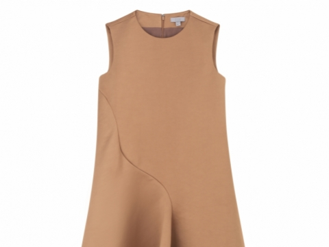 COS curved dart dress $990