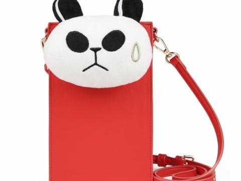 聾貓公仔電話袋 HK$399 (小克命名: 「呢個頭叫嘜頭!」嘟卡袋)
