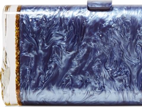 Edie Parker Lara Backlit glittered acrylic box clutch HK$ 9,310 to HK$ 2,793 (70% off)