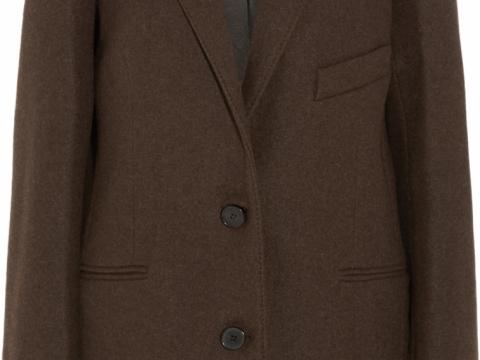 Lemaire Wool-felt blazer HK$ 7,539 to HK$ 1,508 (80% off)