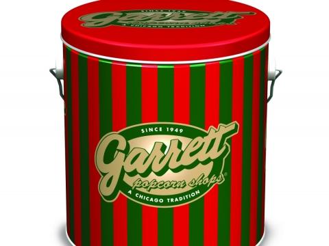 四分一加侖裝及一加侖節日禮罐裝的朱古力焦糖脆脆爆谷優惠價 $308