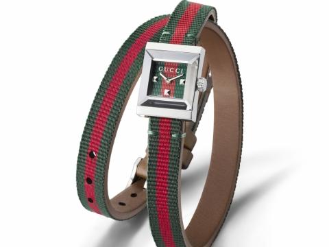 GUCCI G-Frame系列腕錶 $5,230