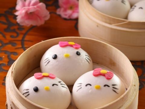 Hello Kitty笑咪咪叉燒包($62)