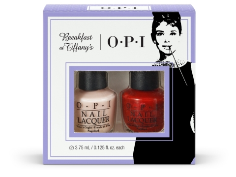 O.P.I Breakfast at Tiffany's Collection 雙色迷你甲油套裝 $48