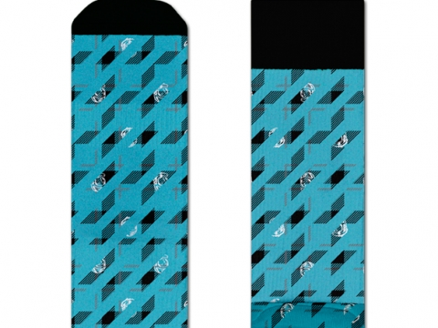 HS x BBC Athletic checked space socks $160