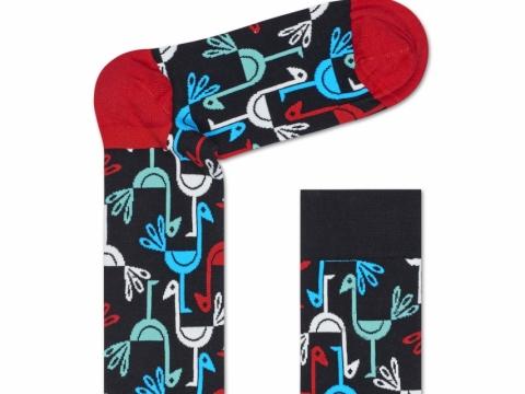 HS x Iris Apfel peacock socks $110