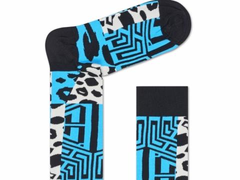 HS x Iris Apfel leopard print socks $110