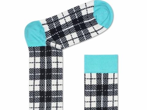 HS x Iris Apfel checked socks $110
