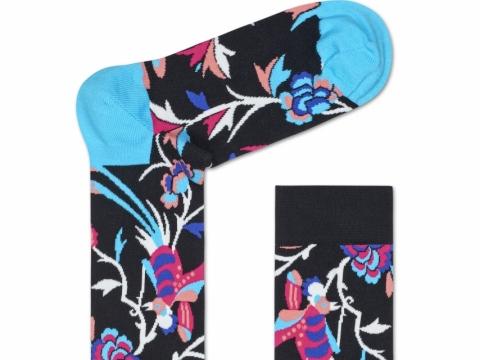HS x Iris Apfel bird socks $110