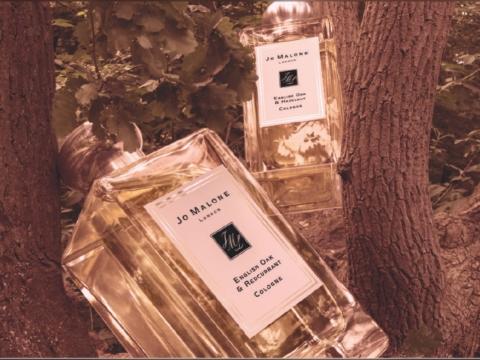 Jo Malone The English Oak & Redcurrant 用上英國的暖烘橡樹為基調,配合初調紅醋栗和中調玫瑰。HK$600/30ml