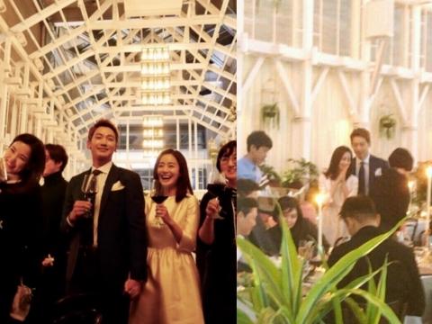 金泰熙和RAIN辦婚宴