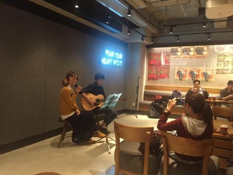 Community Corner_為香港的文化藝術愛好者創造一個表演平台。