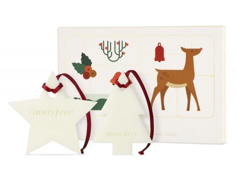 聖誕限量版香薰蜂蠟片套裝,共2 片。$99