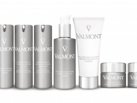 Valmont 一套 8 件全新美白產品。
