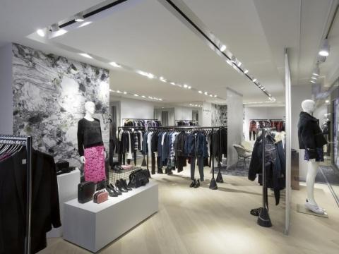 Sandro,fashion,new store