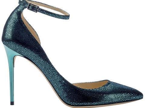 Metallic Lucy heel $6,150(All from Jimmy Choo)