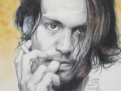 Johnny Depp(2016)