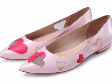心形平底鞋 HK$798