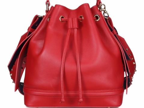 紅色bucket bag HK$1,998