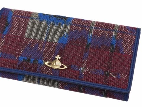 Vivienne Westwood Leopard Tartan wallet $639 (Original Price: $2,130)