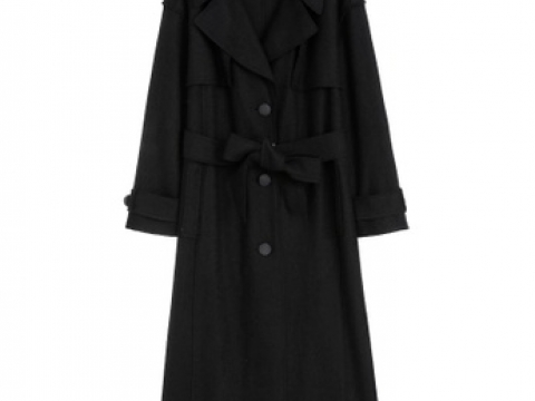Button Long Coat HK$298 (LOEY)