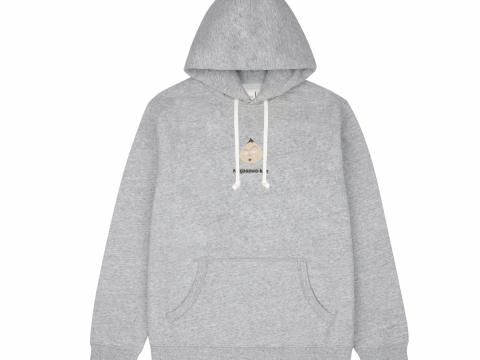 永澤同學灰色印花圖案衛衣 HK$399