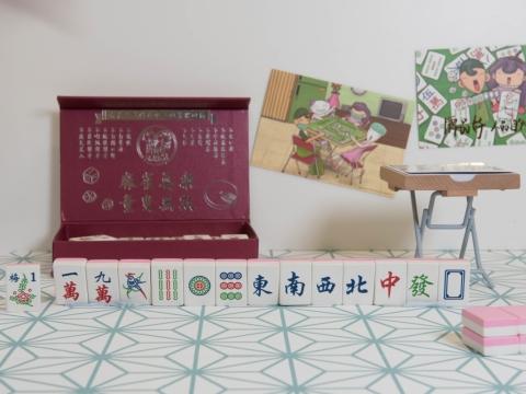 麻雀造型擦膠套裝,麻雀是不少香港人閒時最愛的娛樂,擦膠配上精美「麻雀盒」作為包裝,有特色!HK$188/套