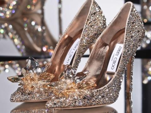 玻璃鞋咁夢幻的Cinderella水晶鞋。