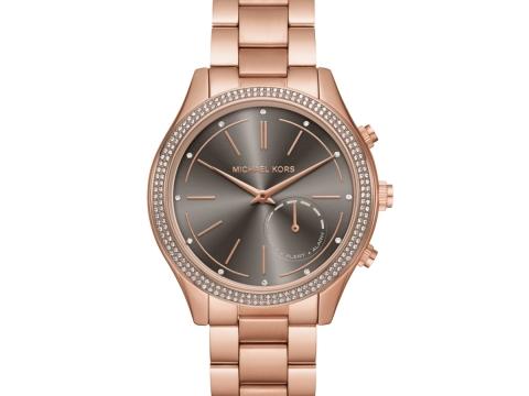 Michael Kors Hybrid玫瑰金色智能腕錶 HK$3,000
