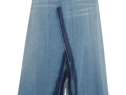 Frayed Denim Maxi Skirt HK$2,655 (MM6 MAISON MARGIELA)