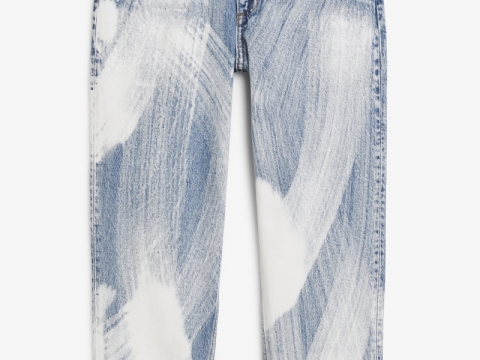 Pants Taiki Jeans Painted Denim HK$450 (Monki)