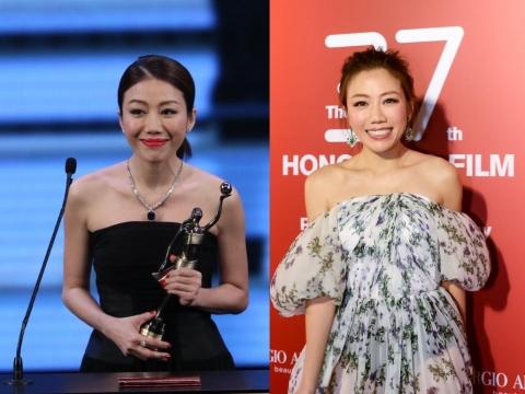 出爐「新晉導演」彭秀慧,身形樣貌拍得住一眾女星,她當晚塗上ARMANI RED Ecstasy Lacquer #501唇色奪獎。
