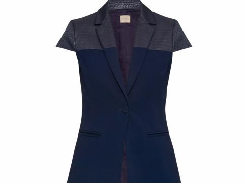 Pennyblack bi-coloured short sleeves blazer $2,780