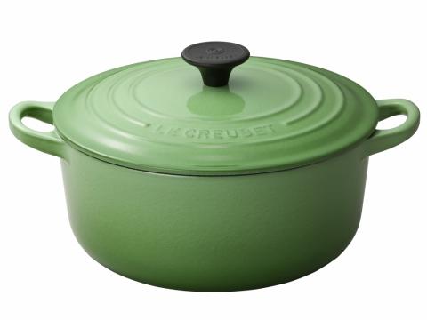入門經典款式!「炆燉之選」Rosemary Green 22厘米圓形鑄鐵鍋  優惠價$1530